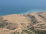 Видеопанорама Лисьей бухты с Эчки-Дага от Курортного до Солнечной Долины